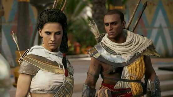 Bayek And Aya Wiki Assassins Creed Amino