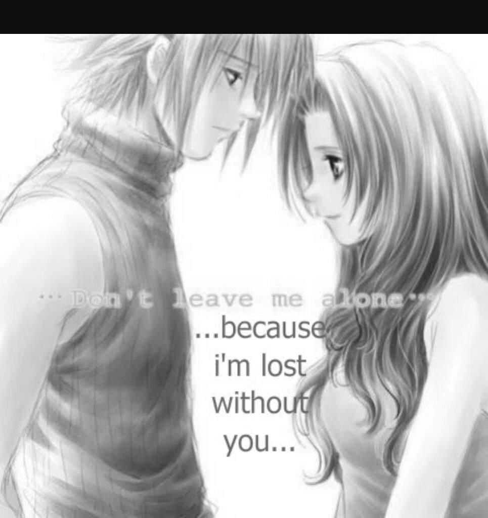 nice anime love couple | anime amino