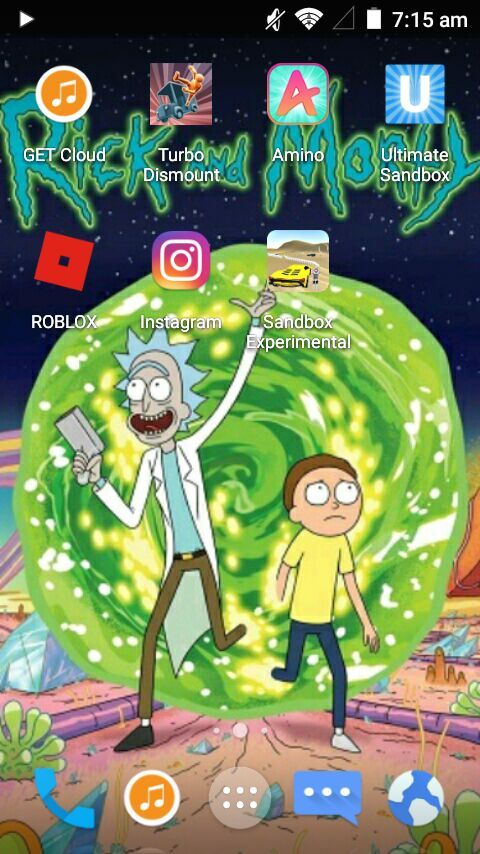 My phone background | Rick And Morty Amino
