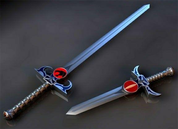 Resultado de imagem para espada olho de thundera
