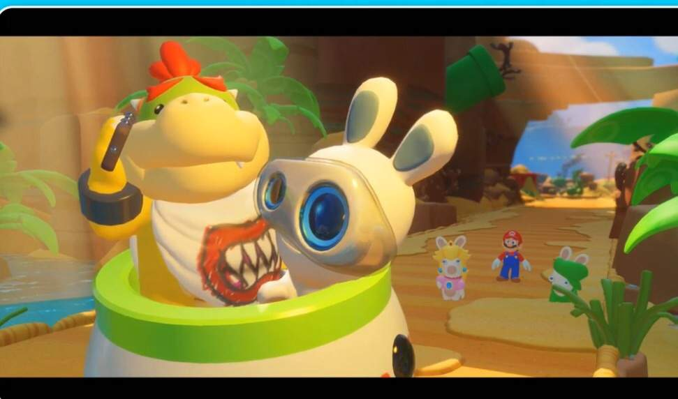 Spoiler: Bowser Jr has a cell phone in Mario and Rabbids: Kingdom