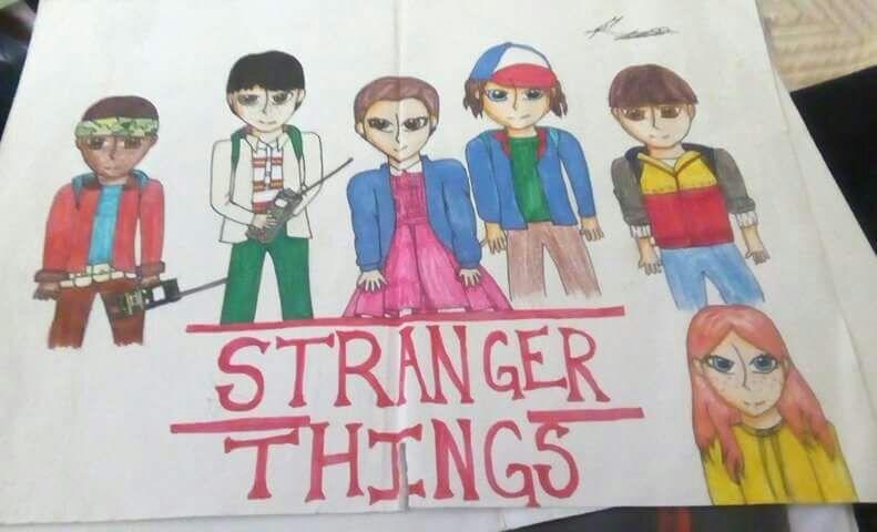 Dibujo Stranger Things Aмιησ Amino