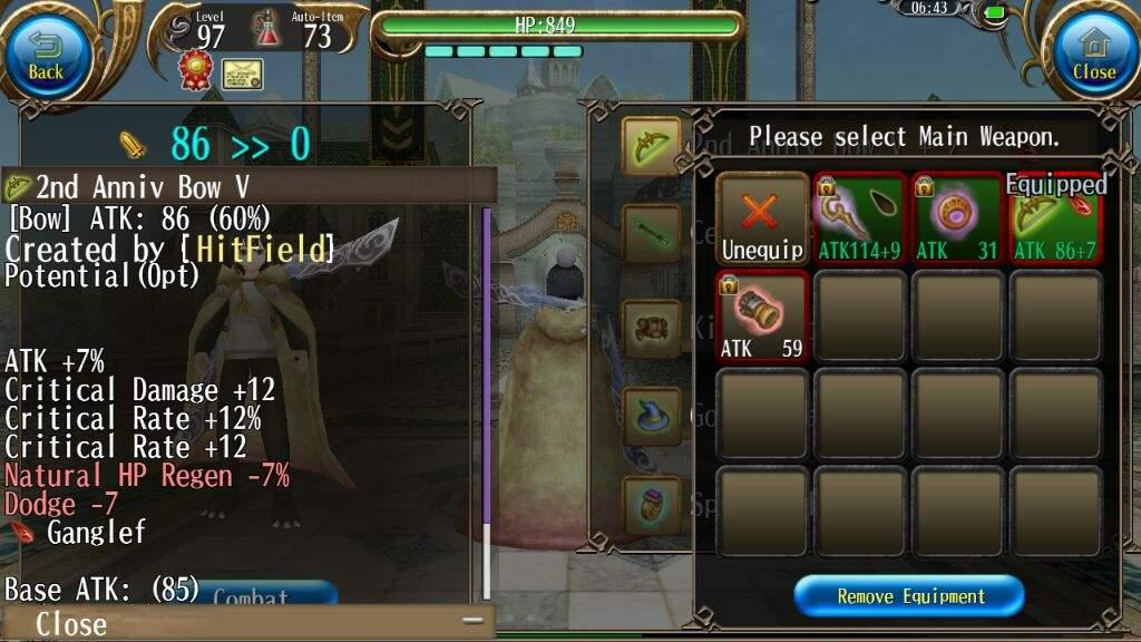 Archer dps build?   Toram Online Amino