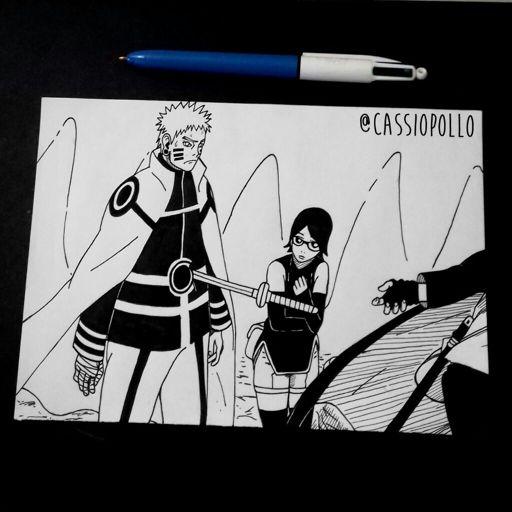 Desenho Finalizado Estilo Manga Draw Drawing Manga Desenho