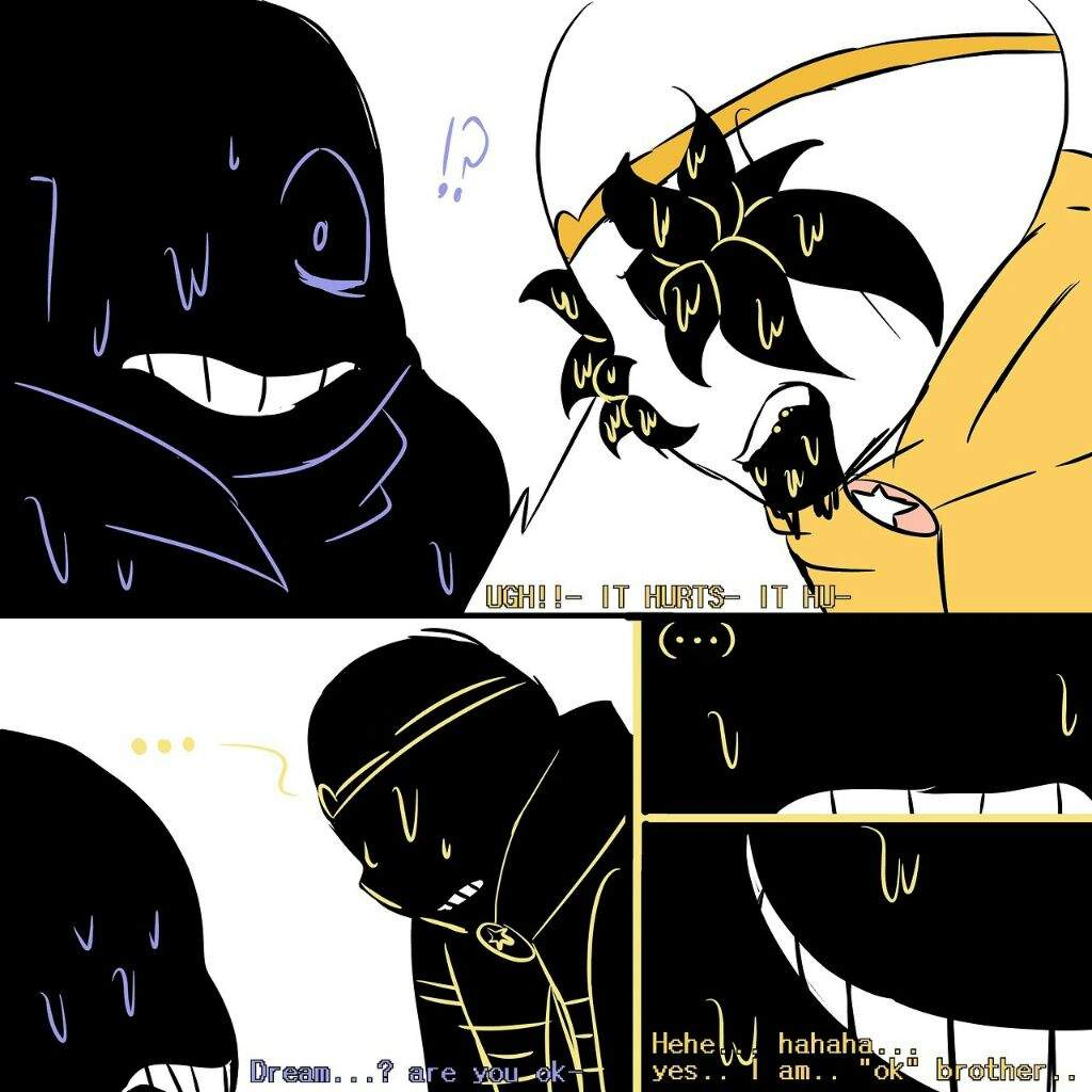 Shattered dreams au: page 2 | Undertale Amino