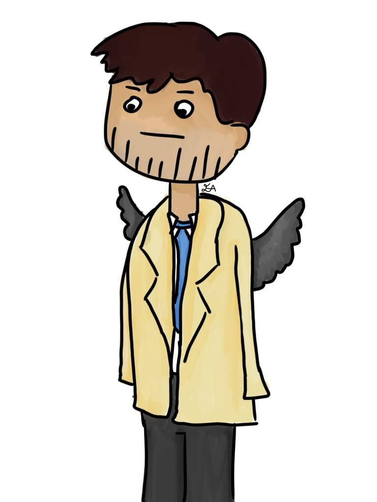 I Did Some Doodles Of Sam Dean And Cas In A Chibi Type Style