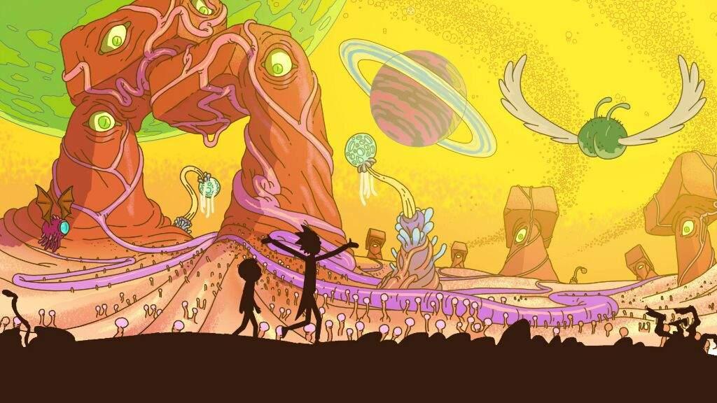 Otros Tres Wallpapers Tamaño Pc Rick Y Morty Amino