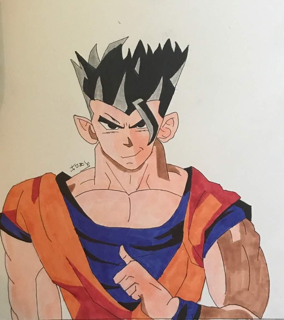 Ultimate Gohan Dragonballz Amino