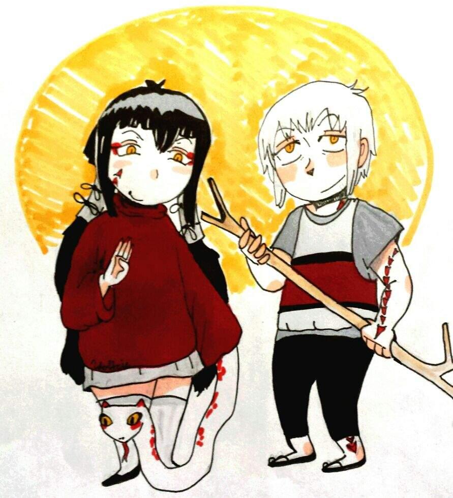 Mamushi And Juzo S Kids Blue Exorcist Amino
