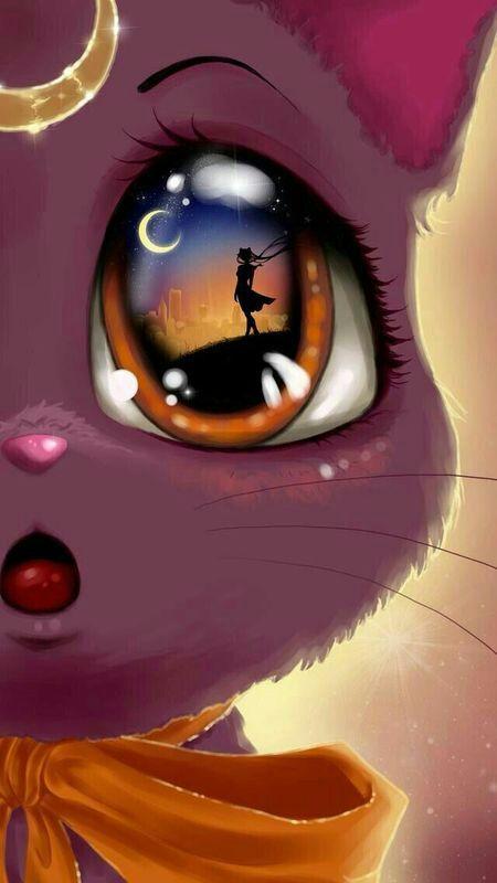 Luna Artemis Diana Sailor Moon Amino