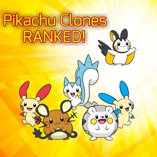 Pikachu Clones Ranked Pokémon Amino