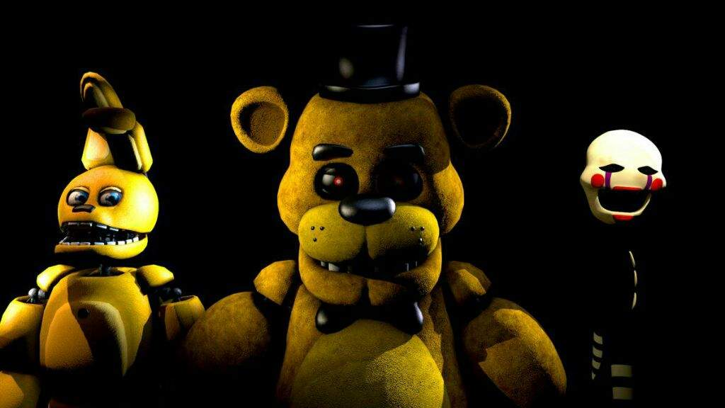 Top Two Pictures Of Golden Freddy
