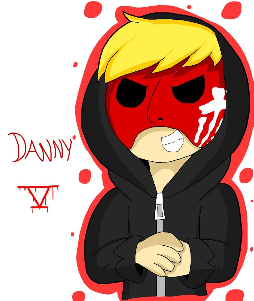 Hollywood Undead Danny Mask Drawing