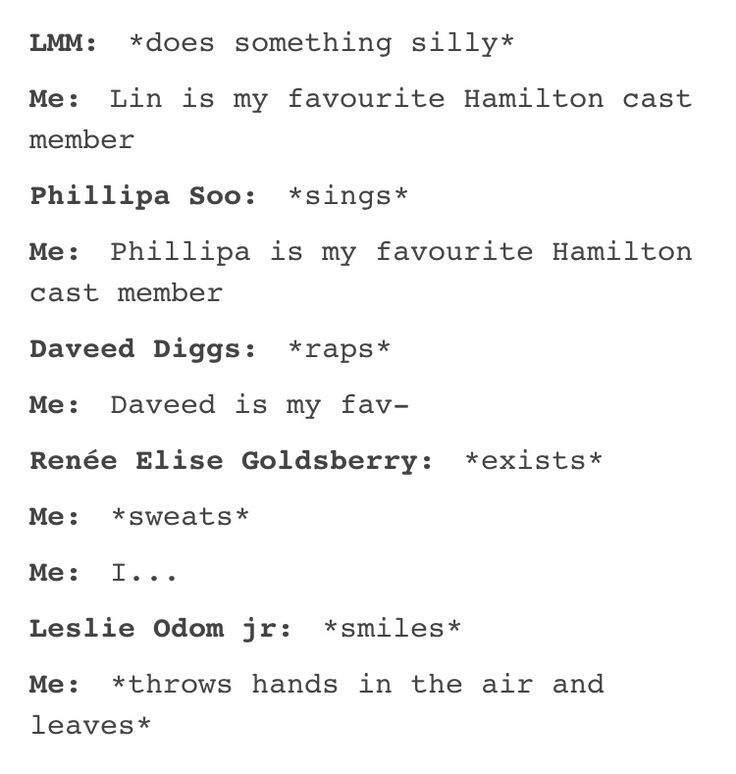 Memes Tumblr Textposts Hamilton Amino