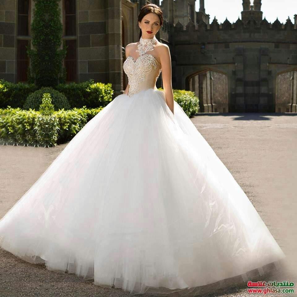 21335f50e6c98 اجمل فساتين الزفاف