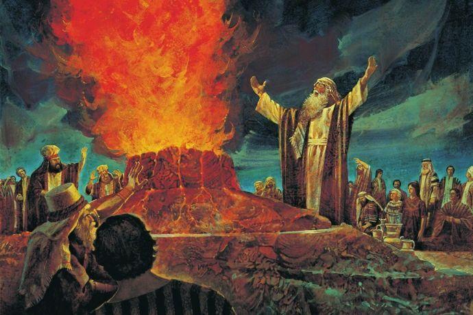 El Sacrificio del Carmelo (1 Reyes 18: 17-39) | ∝Somos Cristianos∝ Amino