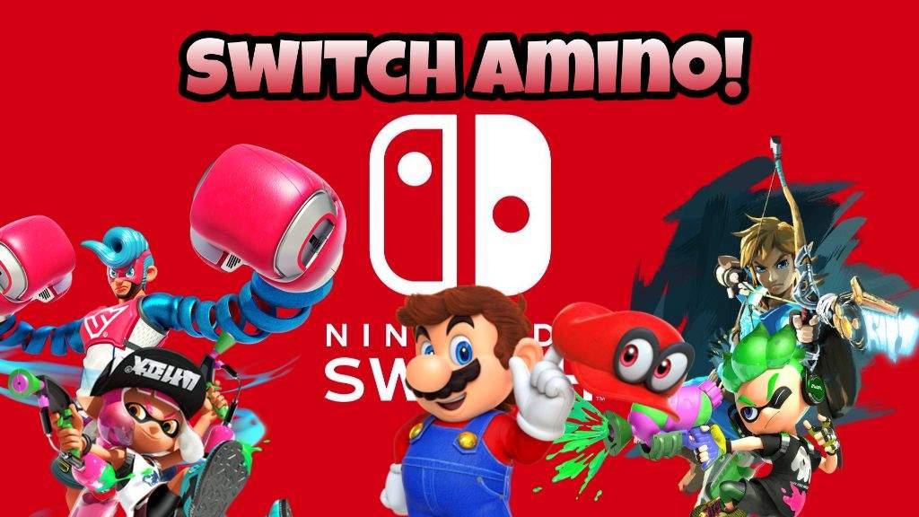 Custom Nintendo Switch Amino Banner Nintendo Switch Amino