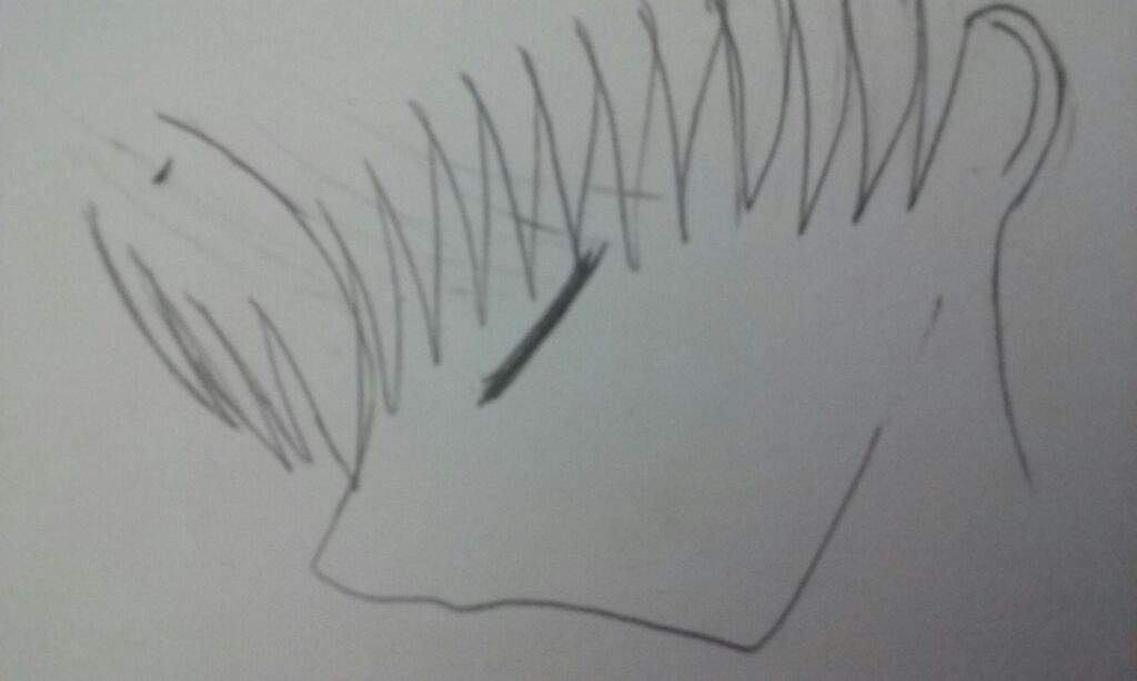 How To Make Straight Line Art : Mamoru collab art drawing tutorial part by anime amino