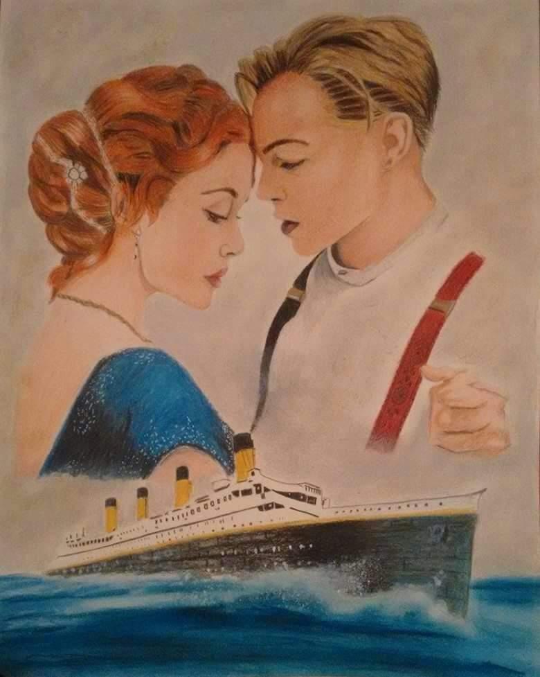 Dibujo Que Hice De Titanic Dibujarte Amino