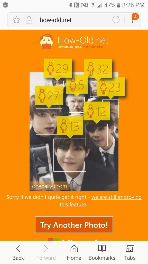 of bts ages