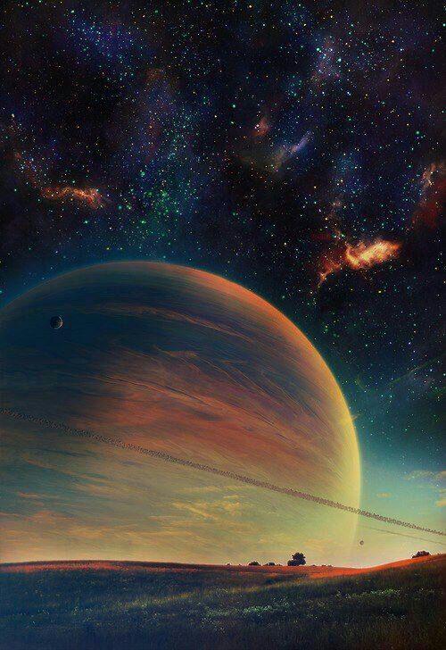 صور و خلفيات عالم الفضاء انا الفضاء صرنا ربع و تصدقون انا من زحل طلعت Kings Of Manga Amino