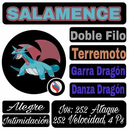 Estrategia Mega Salamence Pokémon En Español Amino