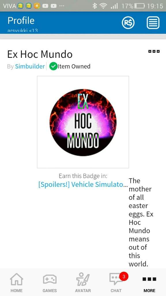 I Got This Hard Badge In Vehicle Simulator Tomorrow Or Tonight