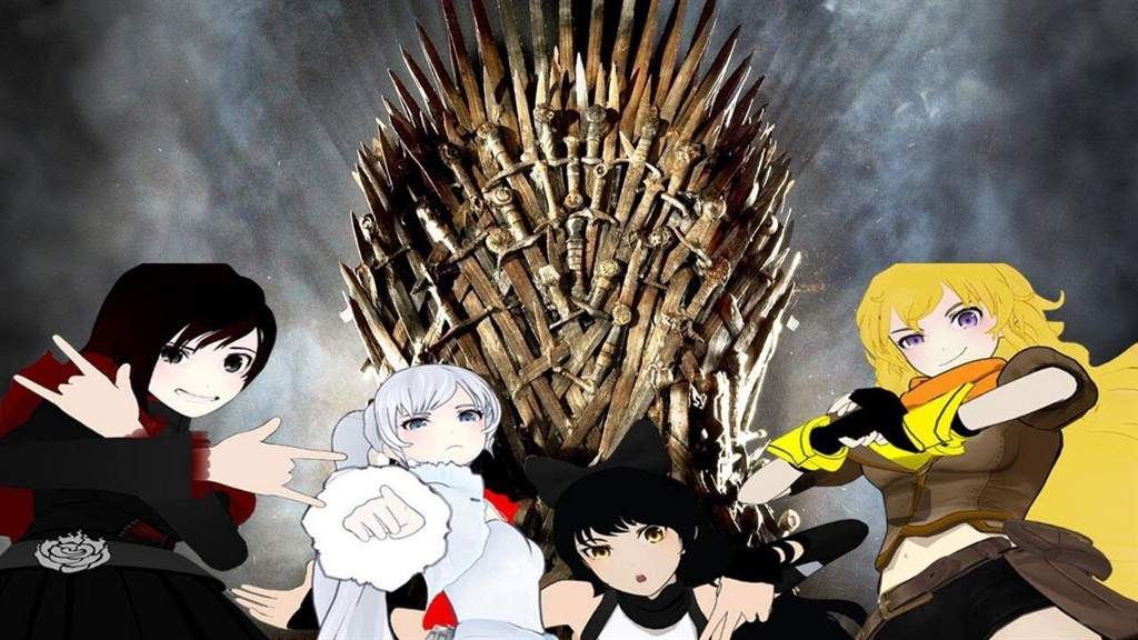 team rwby in game of thrones houses rwby amino
