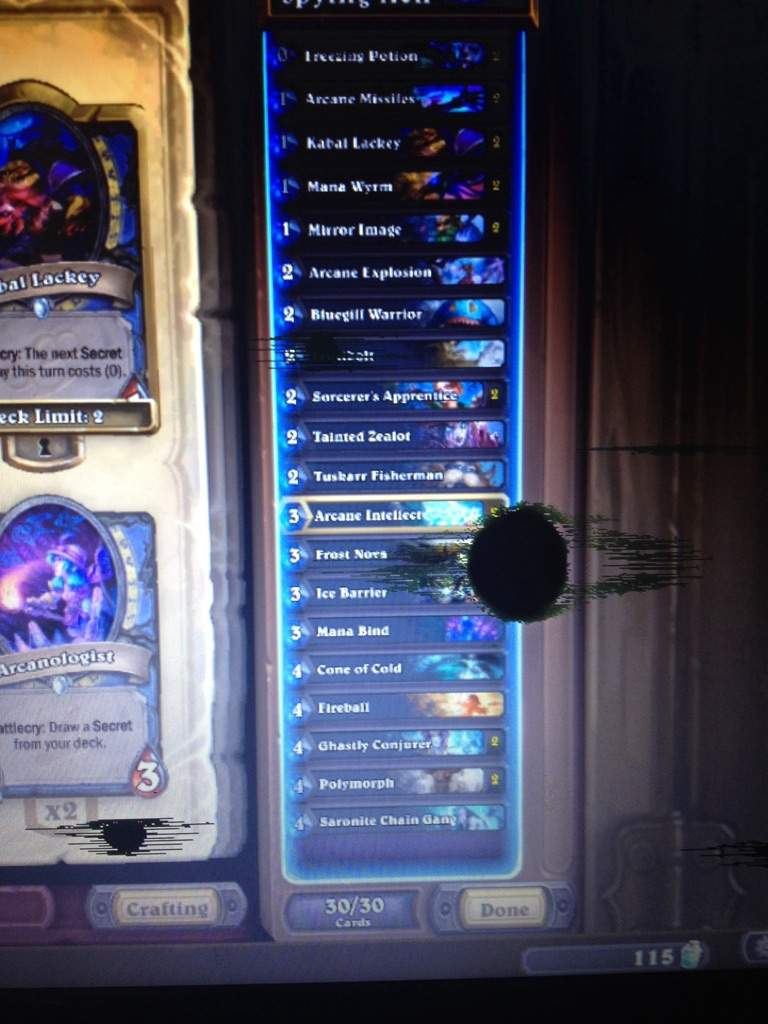 Can I Have Tips For A F2p Mage Vs Lich King? | Hearthstone
