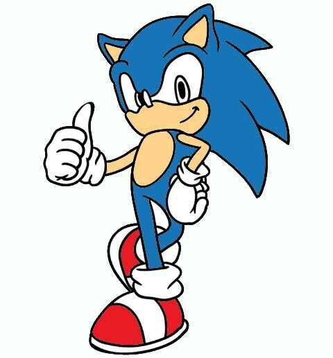 Desenhos Que Fiz Numa App De Colorir Do Sonic Sonic Amino