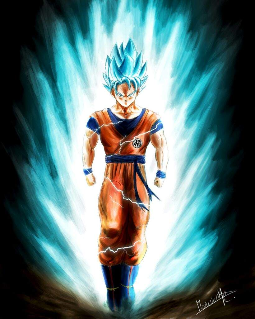 Son Goku Ssgss Kaioken Dessin Digital Anime Et Manga Amino