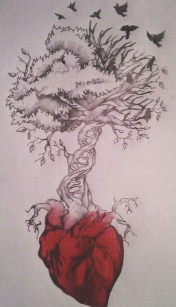 El Arbol De La Vida Dibujo 15 Mb Dibujarte Amino