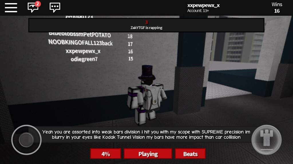 In leader boards and saw the builder of rap battles | Roblox Amino