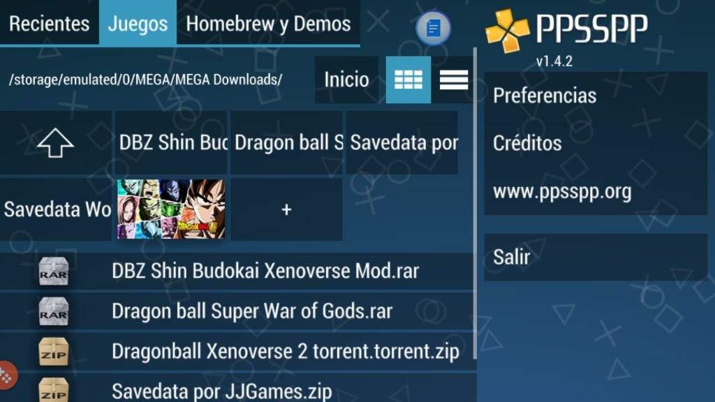 ppsspp emulatore games dragon ball z | DragonBallZ Amino