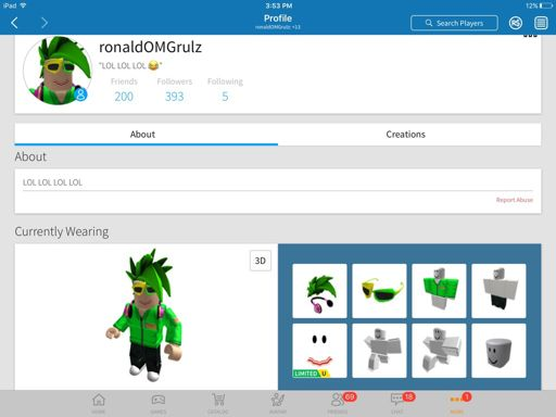 Karinaomg Playing Roblox Karinaomg Or Ronaldomg Roblox Amino
