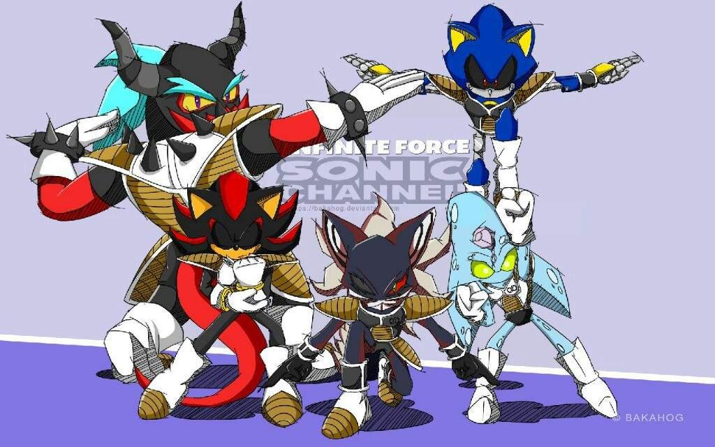 Metal Sonic Rule Sonic Te