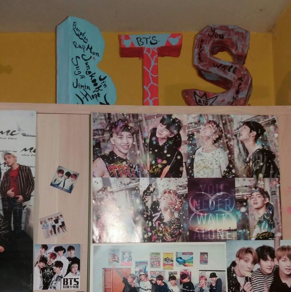 Korean Bts Bts Room Decor