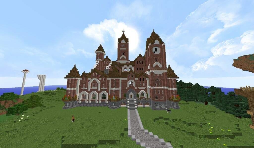 Minecraft Victorian Castle Minecraft Castle Map Wallpapers