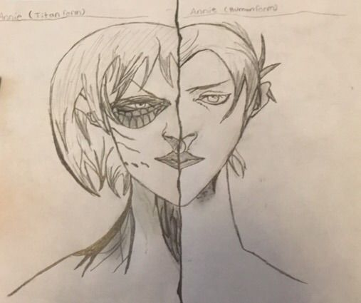 Attack On Titan Annie Fan Art
