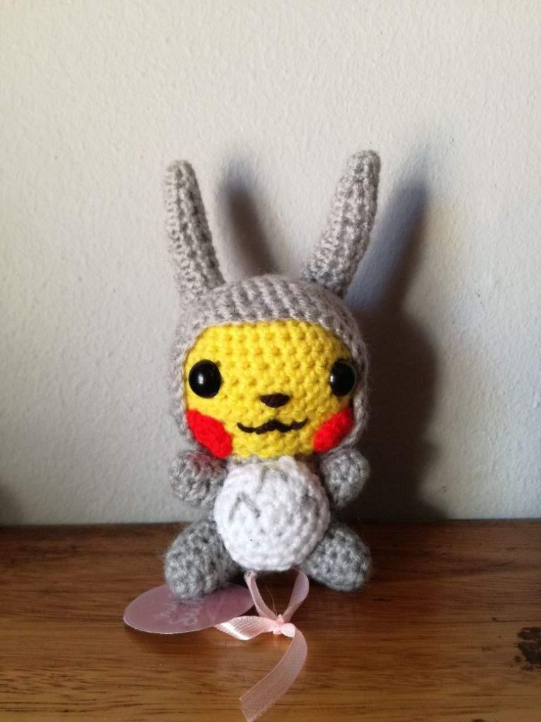 PATTERN: Pikachu Amigurumi, Pikachu Crochet Pattern, Detective ...   1024x768