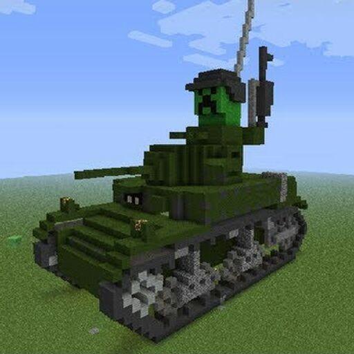 Мод на танки майнкрафт
