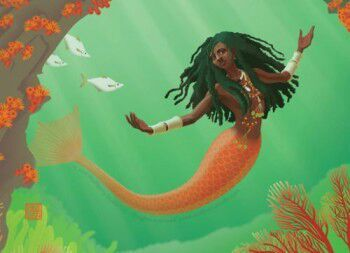 The Mermaid, or River Mumma  Jamaican Folklore  | Mythology