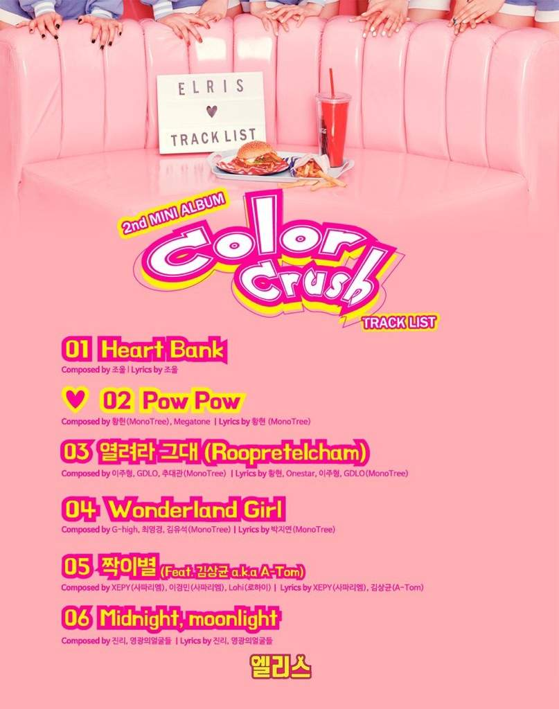 Offical tracklist and debut date elris amino stopboris Images