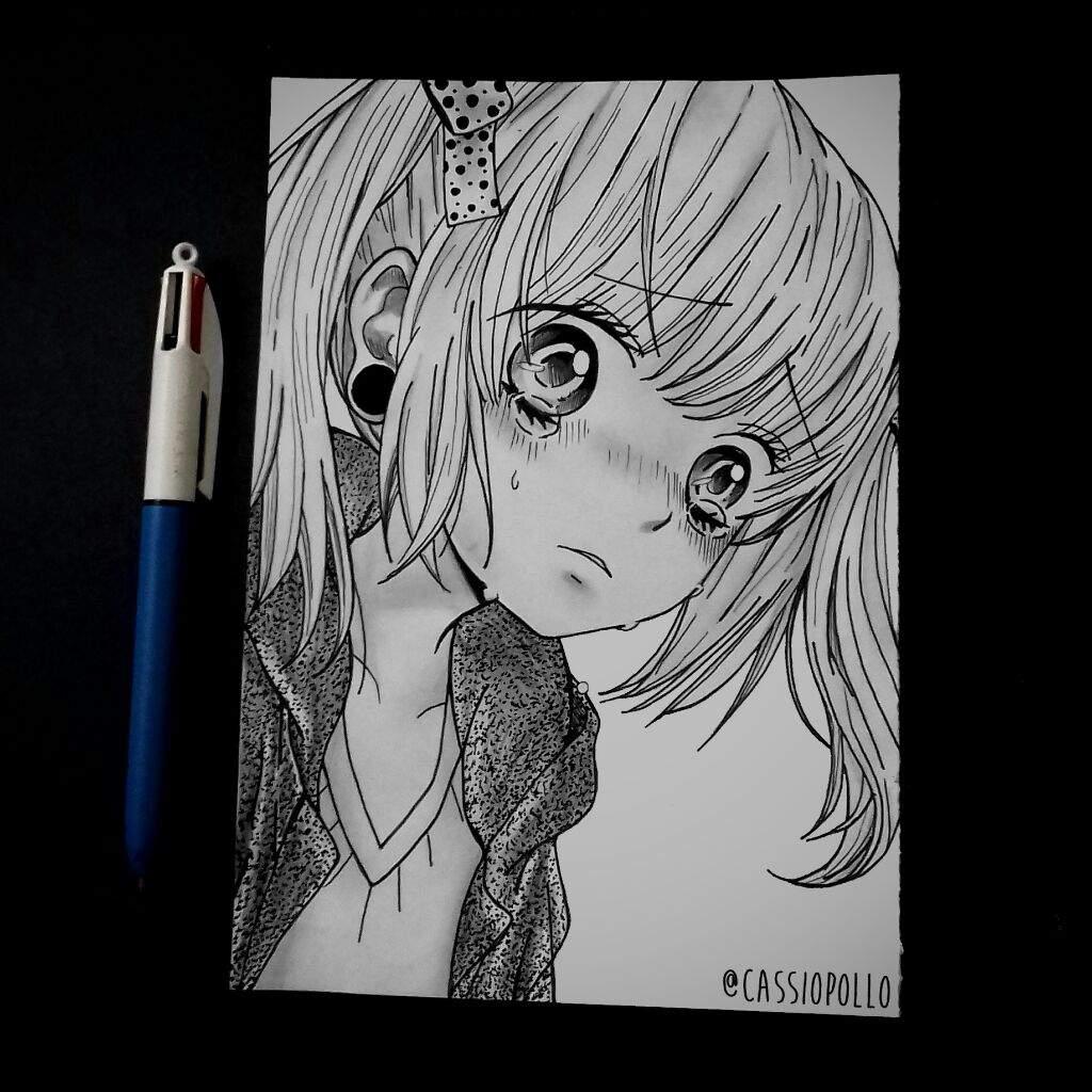 Desenho Estilo Manga De Hoje Draw Drawing Manga Desenho