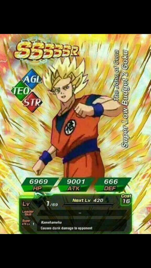 Best custom card ever tbh | Dokkan Battle Amino