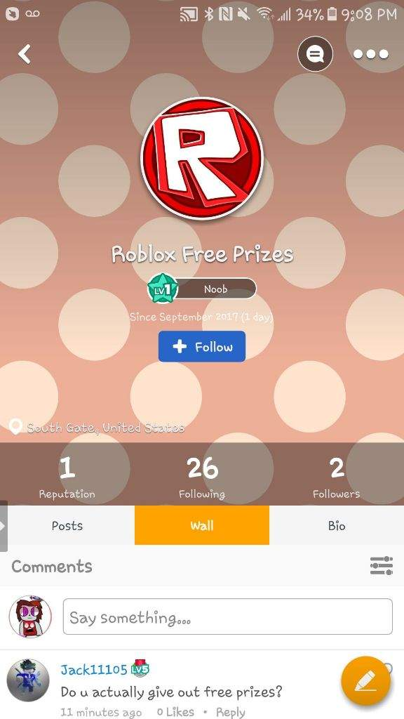 The new bot in town  | Roblox Amino