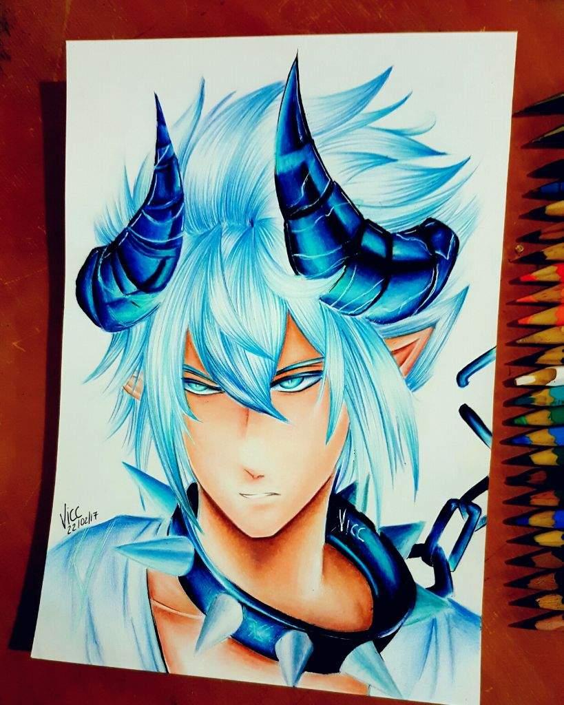 Dibujo a lapices de colores... x3/ | Arte Anime Amino Amino