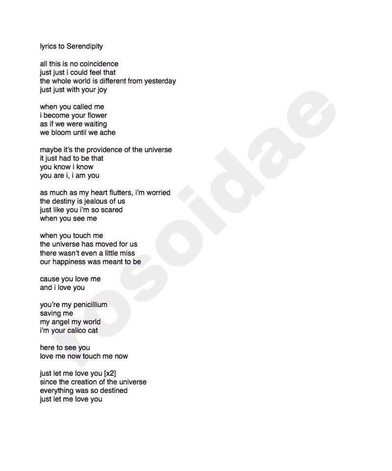 I love you english lyrics