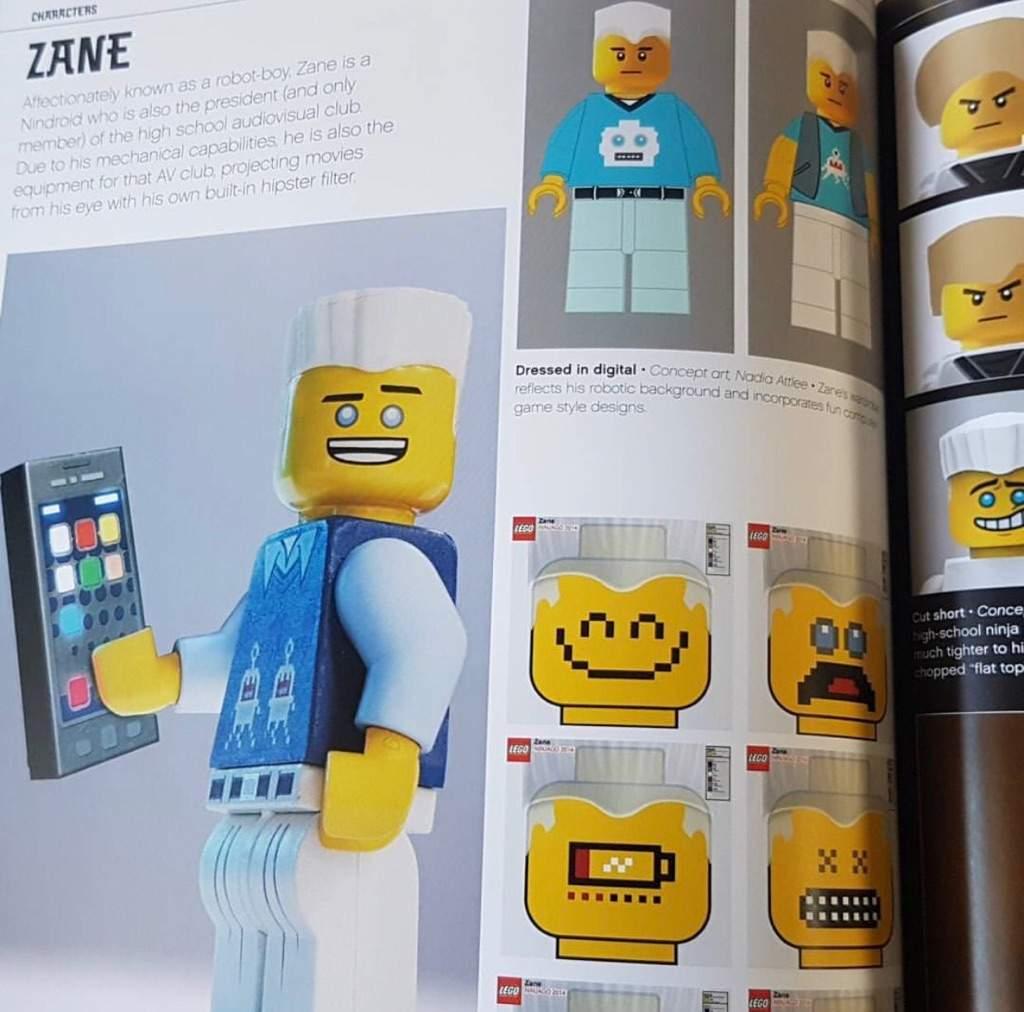 Concept Art Of Lego Ninjago Movie Zane Masters Of
