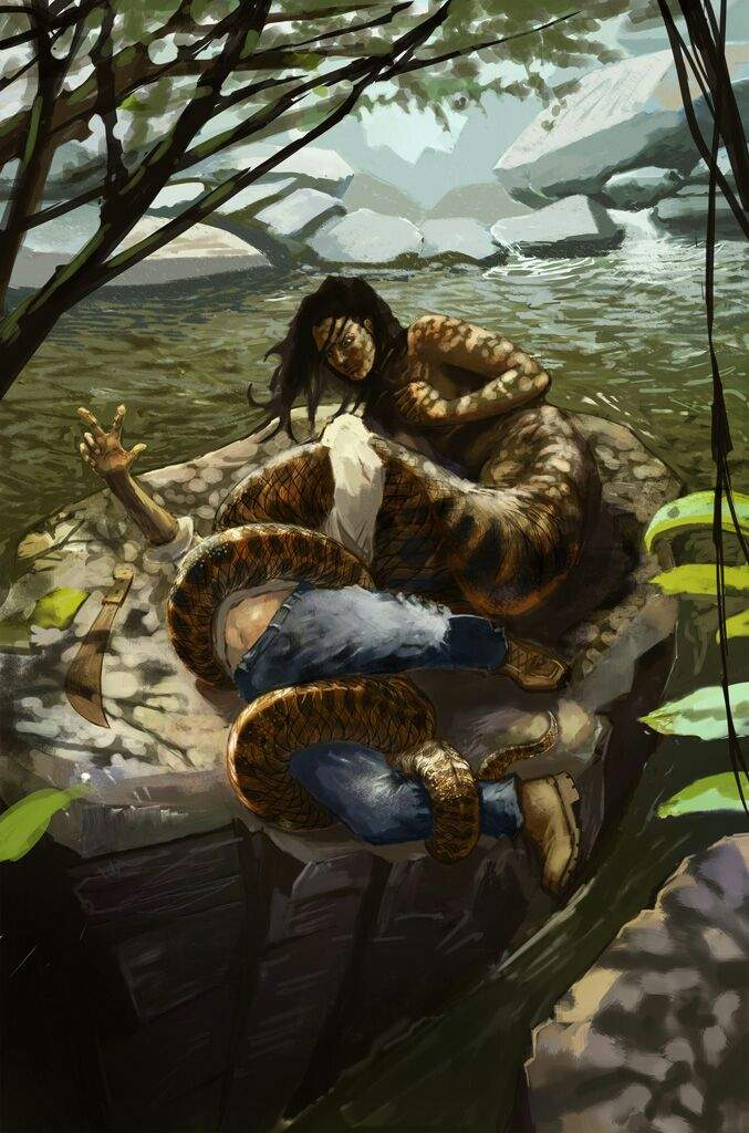Mama DLeau Is A Folklore Character from Trinidad and Tobago
